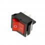 Выключатель режимов водонагревателя, Ariston 66449, 1 красн. клавиша