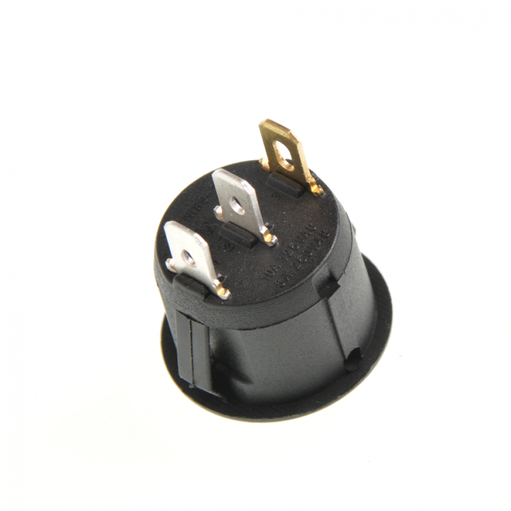 Выключатель режимов водонагревателя, Termex 66216, круглая клавиша, красн.