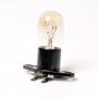 Лампа для СВЧ 20W, с патроном, контакты под углом.