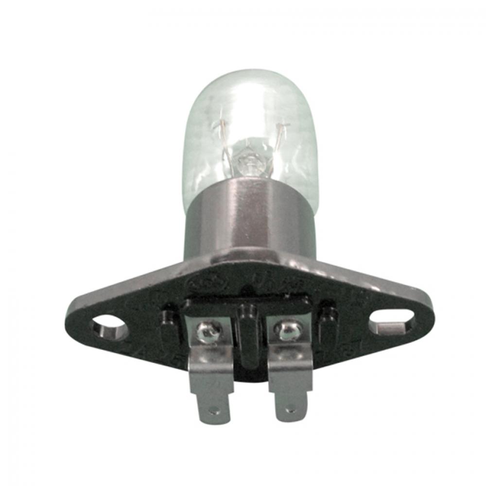 Лампа для СВЧ 25W, с патроном, контакты под углом