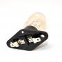 Лампа для СВЧ 25W, с патроном. контакты вдоль, 481213488071