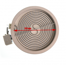 Конфорка (стеклокер.), D внутр. - 180mm, 1800W, 264626