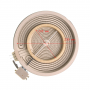 Конфорка (стеклокер.), D внутр. - 205/120mm, 2100/700W, с расширеннием, EIKA