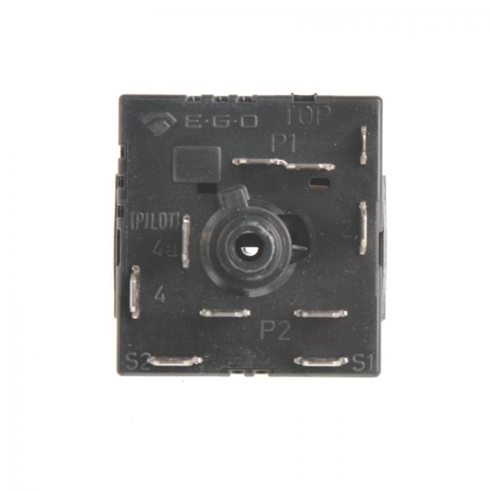 Регулятор конфорки HANSA, 8002321, с расширением, чёрный, 50.85021.00