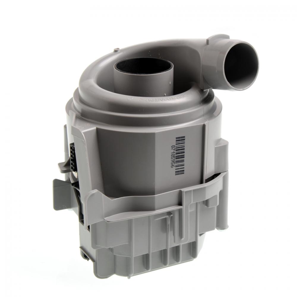 Насос циркуляционный + ТЭН для ПММ Bosch 215536, средний