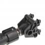Амортизатор 120N, 165-245 мм, с пласт. крепеж. Whirlpool 481246648088
