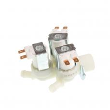 Электроклапан 3W x 180°, INDESIT 375215, металл. крепеж