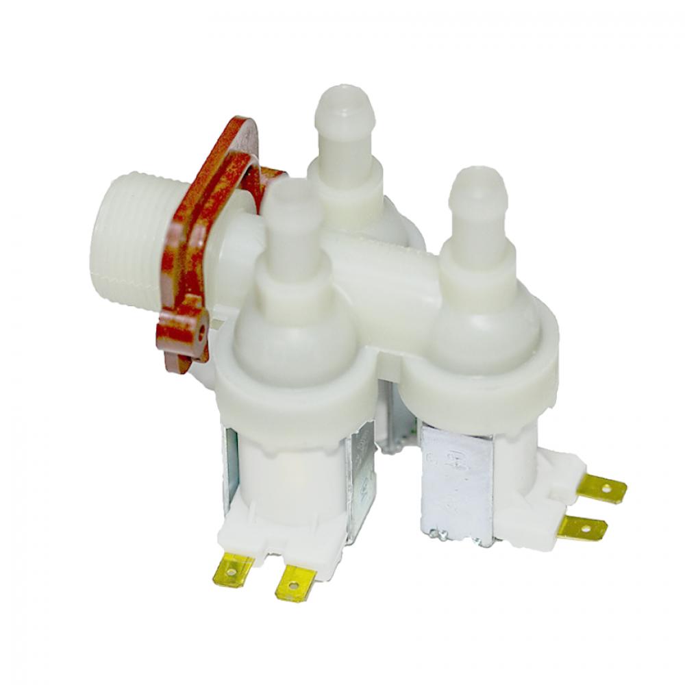 Электроклапан 3W x 90°, INDESIT 378123, пластик. крепеж