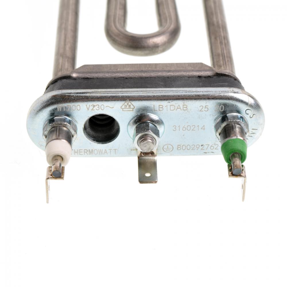 ТЭН 1700W, 175 мм, под датчик, Indesit 094715, Thermowatt, Original