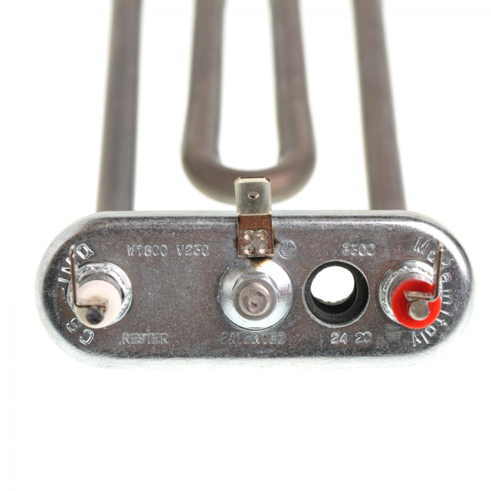 ТЭН 1800W, 200 мм, гнутый, под датчик, 255085