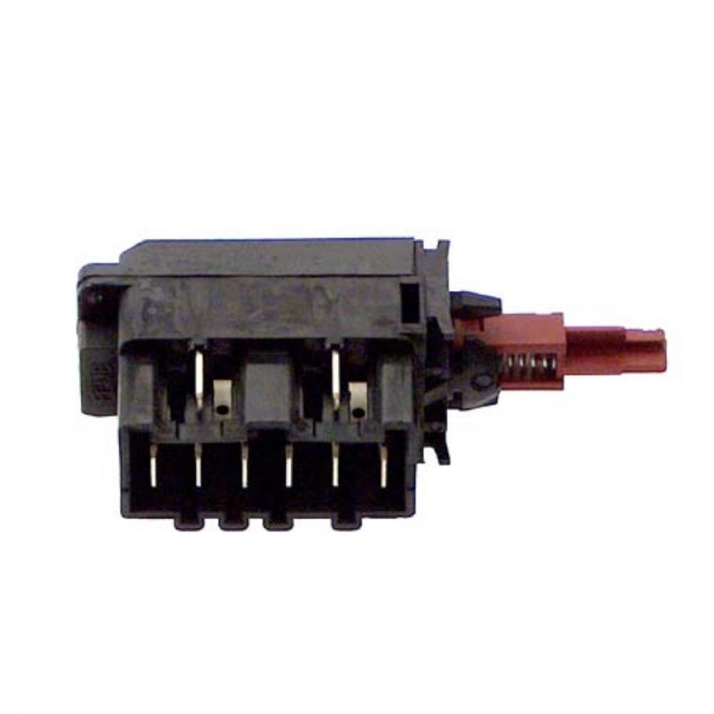 Выключатель сетевой, 6+2 конт, Electrolux 1249271204