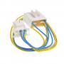 Реле тепловое Indesit, 4 провода  разъём 6 контактов. 258436